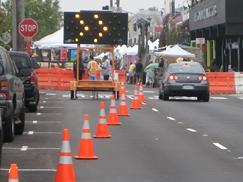 Street / Freeway Closures - Southern California Barricades